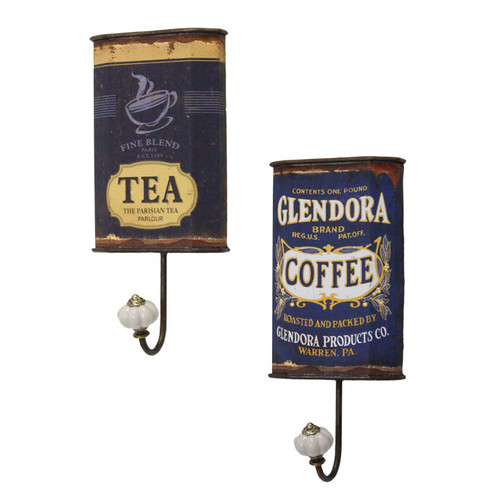 Selectives 2 Piece Glendora Decorative Hooks Set