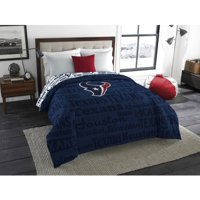 "NFL Houston Texans ""Anthem"" Twin or Full Bedding Comforter, 1 Each"