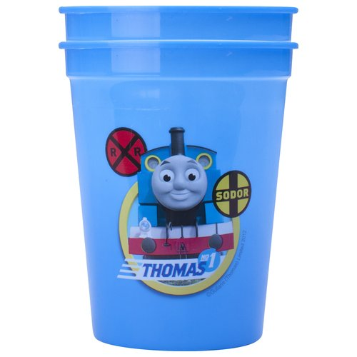 Zak Designs Thomas the Train Tumbler, 12 oz, 2-Pack