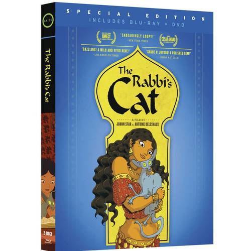 The Rabbi's Cat (French) (Blu-ray + DVD) (Widescreen)