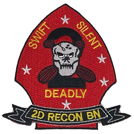2D RECON BATTALION 2ND SECOND Patch - Vivid Colors - Veteran Owned Business. (Battalion Patch)