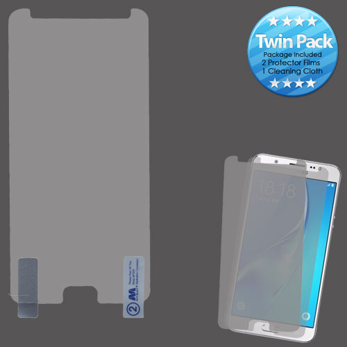 For Samsung Galaxy J7 2017 Sky Pro On7 Clear Screen Protector Film Twin Pack