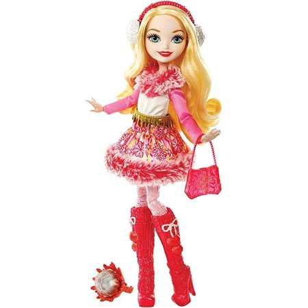 Ever After High Epic Winter Apple White Doll - Ever After High Cerise Wolf