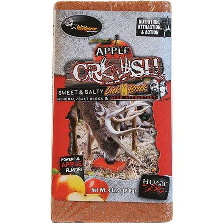 Deer Block (Wildgame Innovations Apple Crush Deer Attractant Salt Block, 4 lbs. )