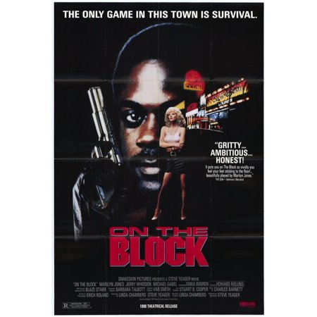 On The Block Poster Movie  27X40