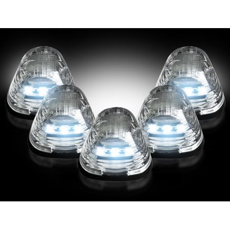 Recon CLEAR LED Cab Light Kit Ford Superduty 99-16 - WHITE LED ()