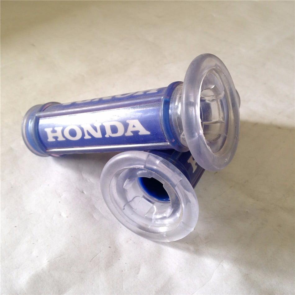 Blue Honda Hand Grips Sport Bike Dirt Bike APRILLA BMW Polaris Offroad KTM 25mm