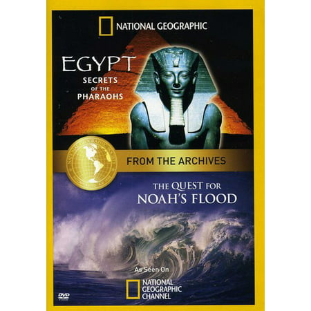 From the National Geographic Archives: Egypt - Secrets of the PharaohsAnd the Quest for Noah's Flood (Before The Flood Leonardo Dicaprio National Geographic)