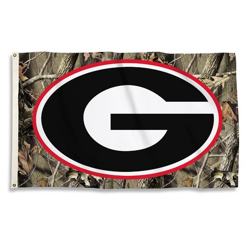 BSI Products NCAA Realtree Camo Traditional Flag