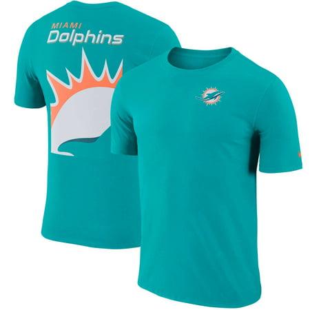 Miami Dolphins Nike Performance Crew Champ T-Shirt - - Miami Dolphins Halloween Jerseys