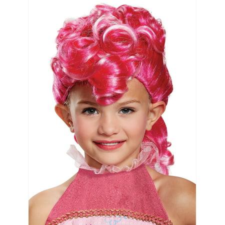 Pinkie Pie Movie Wig - Size One Size (Pinkie Pie Wig With Ears)