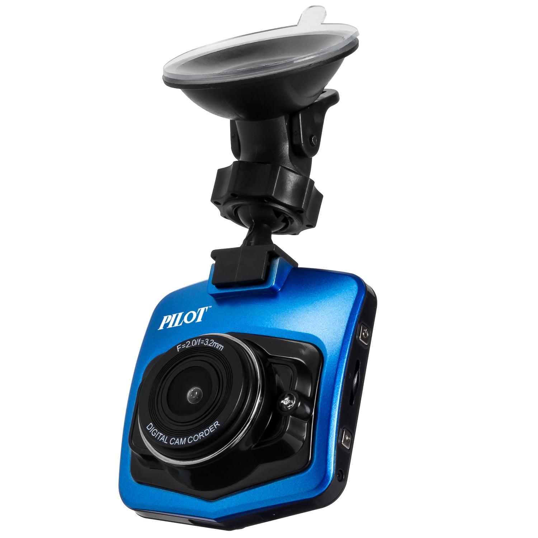 Pilot Automotive 1080p Dash Cam With 8gb Sd Card Walmart Com Walmart Com