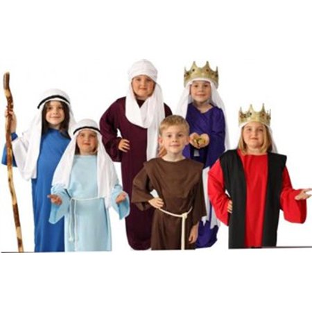 Story of Christ Biblical Gown Child Costume (Red Costume Shoes)