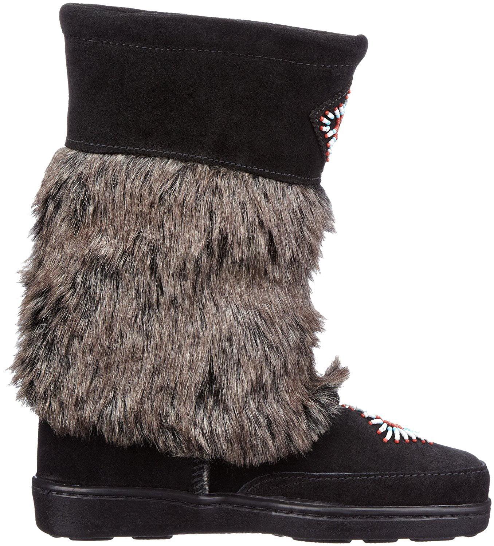 Minnetonka Mukluk High Women's Black Boot by Minnetonka