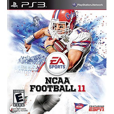 Refurbished NCAA Football 11 For PlayStation 3 (Best Ps3 Football Game)