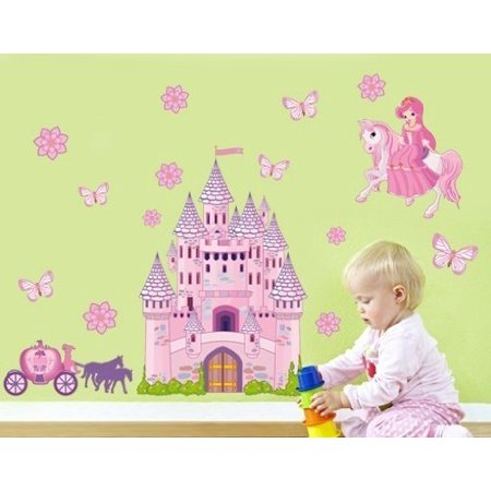 Princess Set Wall Decal - wall print decal b6c5fd76d
