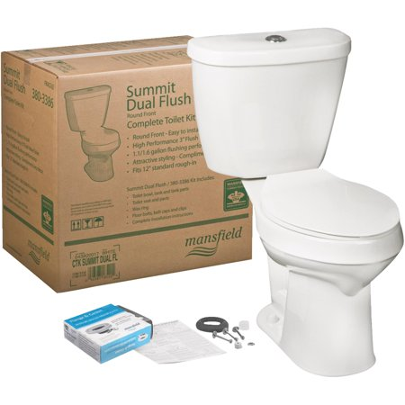 Mansfield Summit Water Saving Dual Flush Toilet Kit