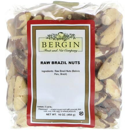 Bergin Fruit and Nut Company  Raw Brazil Nuts  16 oz  454