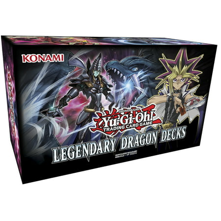 Yu-Gi-Oh! Legendary Dragon Decks Box Cards