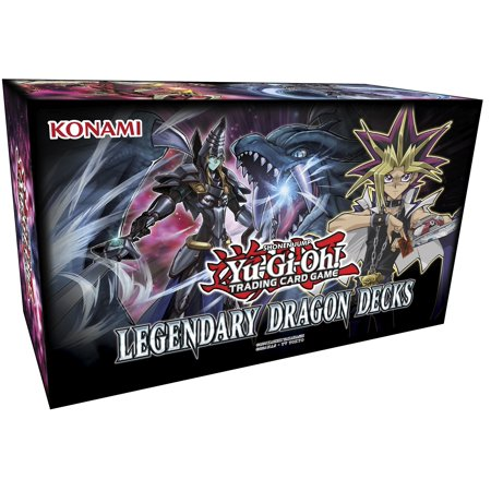 Yu Gi Oh White Dragon Card (Yu-Gi-Oh! Legendary Dragon Decks Box)