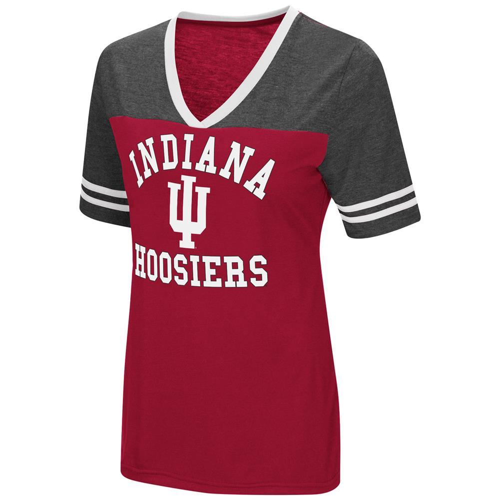 Indiana University Hoosiers Women's S/S Tee Colosseum Short Sleeve