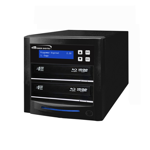 Econ Series 2 Target Blu-ray DVD CD Duplicator with 500GB HDD