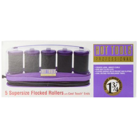 Hot Tools HT1357 5 Professional Supersize Flocked Rollers ...