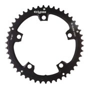 Eclypse, Glide-Pro 130, 46T, 8-10sp, BCD: 130mm, 5 Bolt Outer Chainring, Alloy, Black