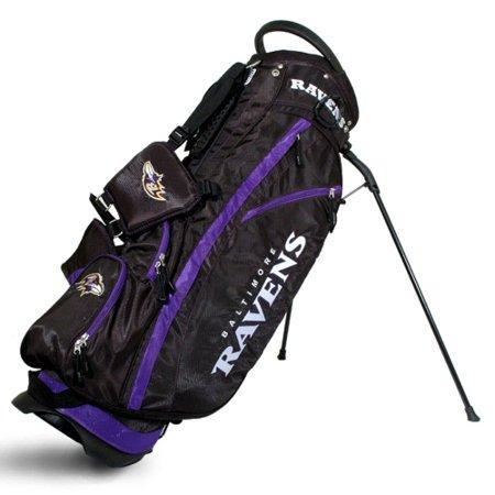 Lightweight Golf Stand Bags (Baltimore Ravens Fairway Stand Golf Bag - No Size )