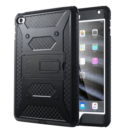 Ipad Mini 4 Case Ulak Hybrid Shock Absorbing Heavy Duty Rugged Screen Protector Hard With Kickstand Full Body Anti Slip Protective Cover For Le