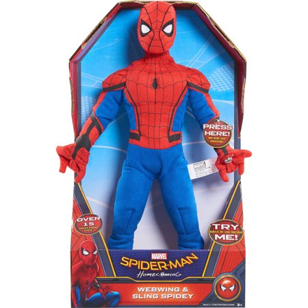 Marvel Spider Man Homecoming Webwing   Sling Plush
