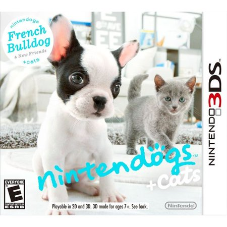 Nintendogs + Cats: Bulldog (Nintendo 3DS)