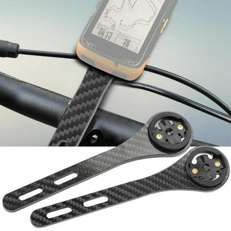 Yosoo Road Bike Cycling Computer Holder Integrated Handlebar Stem for Garmin for Bryton Series, Bike Handlebar Stem,Bike Computer Holder