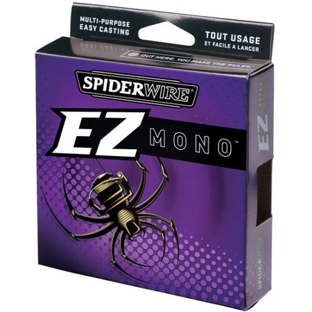 Spiderwire EZ Monofilament Fishing Line, Clear