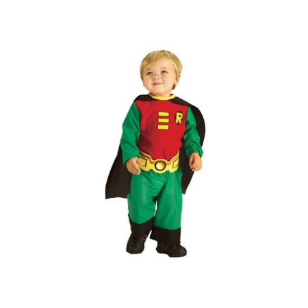 Toddler Robin Costume - Makeup For Robin Costume