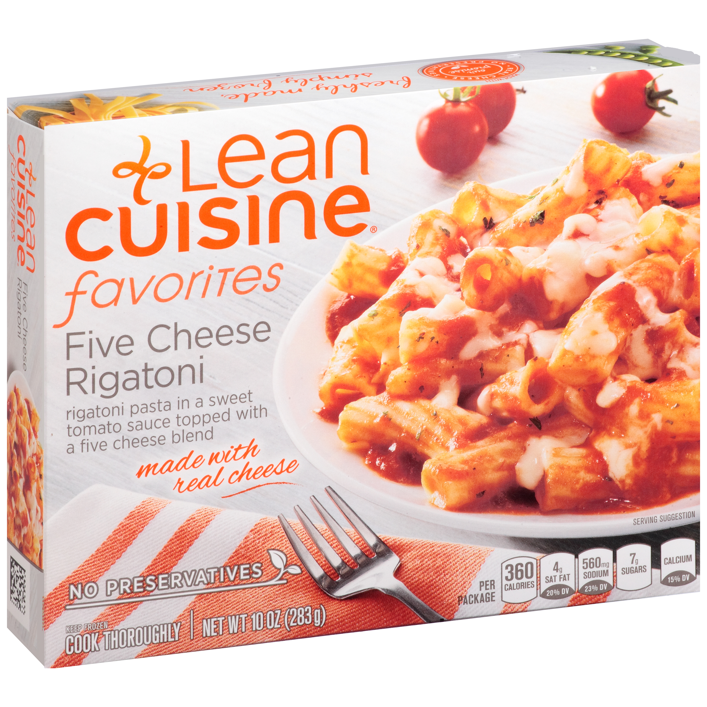 LEAN CUISINE FAVORITES Five Cheese Rigatoni 10 oz. Box