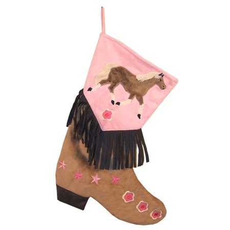 Carstens Girls Horse Christmas Stocking