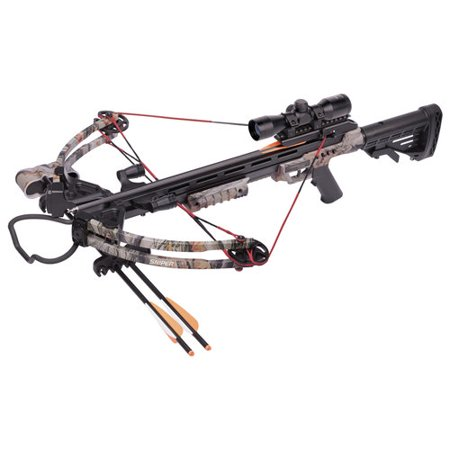 CenterPoint Sniper 370 Crossbow Camo, Hunt and Scout Binocular Series](Costume Crossbow)