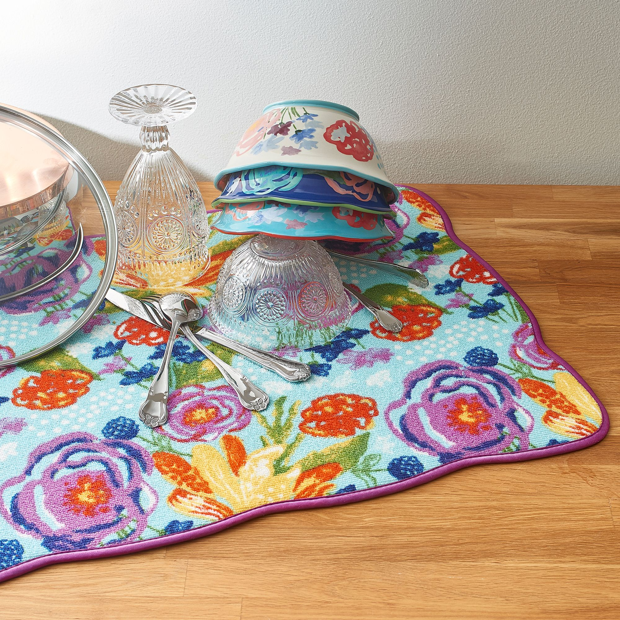 The Pioneer Woman Celia Reversible Dish Drying Mat 18x24