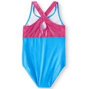3fea09def0b69 JoJo Siwa Crossback One-Piece Swimsuit (Little Girls   Big Girls) Image 2