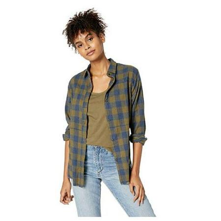 Hurley Oneill - Wmns Hurley (Olive Canvas) Wilson Flannel LS Shirt MEDIUM