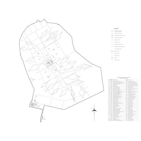 LAMINATED POSTER Base Layout Map, USAF Kashiwa Communications Station •_ölate 1960s): In 1963, the DCA Mid-Range Plan Poster Print 24 x