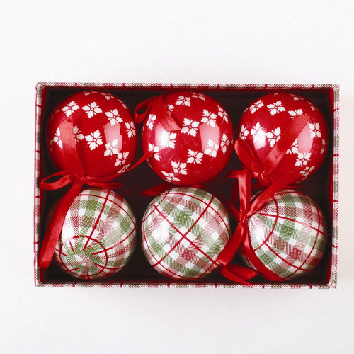 TAG Chalet Ornament (Set of 6)
