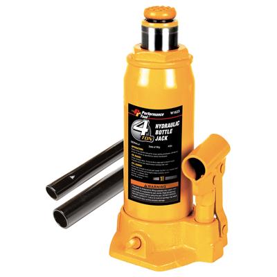 Performance Tool 4 Ton Hydraulic Bottle Jack (W1623)