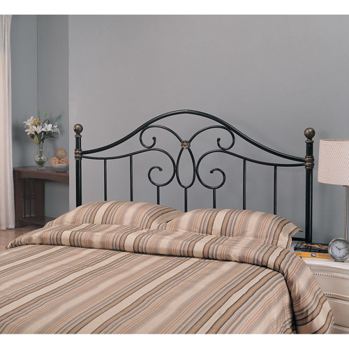 Coaster Full/Queen Butterfly Metal Headboard, Black