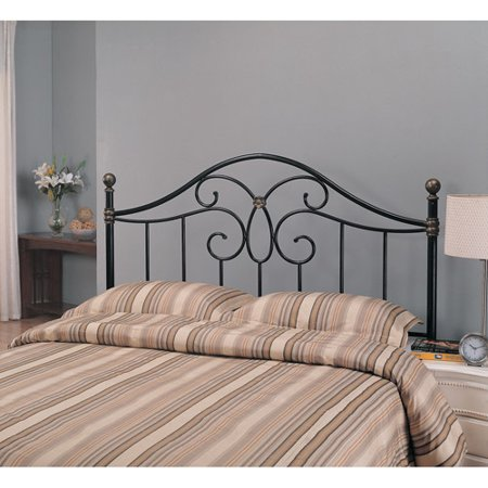 Coaster Full/Queen Butterfly Metal Headboard, Black - Coaster Full/Queen Butterfly Metal Headboard, Black - Walmart.com