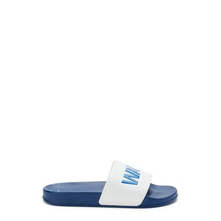 George Men's Walmart Slide Sandals