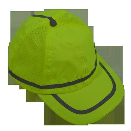 ce0b80a1b6770 Petra Roc LBC-S1 Hi Vis Baseball Cap Style Safety Cap  44  Lime ...