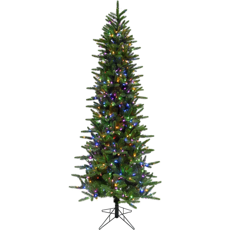 Christmas Tree Farm Southern California: Fraser Hill Farm 7.5 Ft. Carmel Pine Slim Artificial