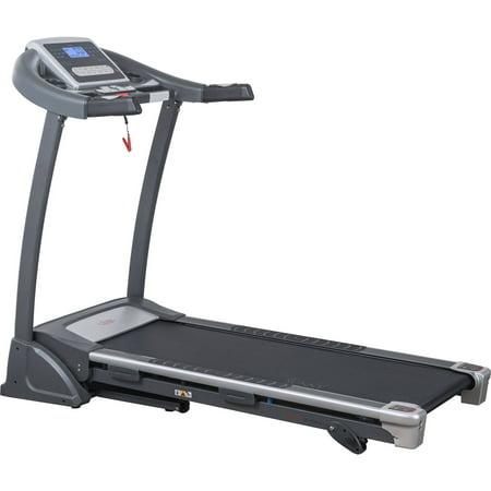 Sunny Health & Fitness SF-T7604 Folding Treadmill w/ Manual Incline and LCD - Sunny Manual